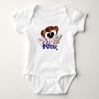 Body Para Bebê Texugo de mel