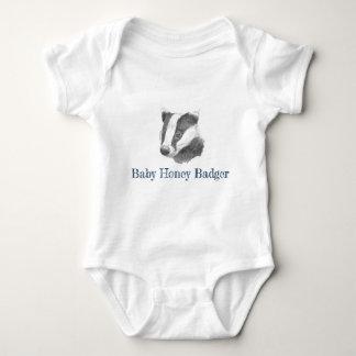 Body Para Bebê Texugo de mel do bebê