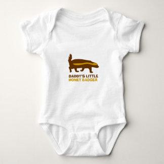 Body Para Bebê Texugo de mel do pai pouco