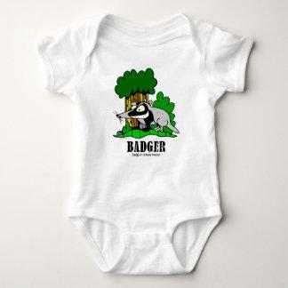 Body Para Bebê Texugo por Lorenzo