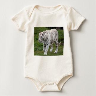 Body Para Bebê Tigre branco
