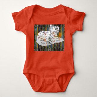 Body Para Bebê Tigre e elefante de bebê