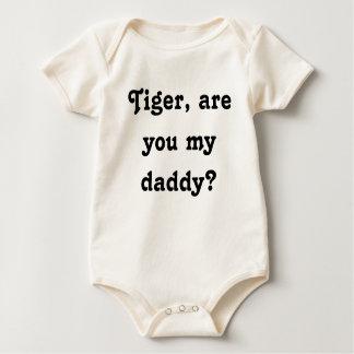Body Para Bebê Tigre, é você meu pai?