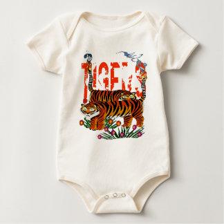 Body Para Bebê Tigres de Henri Rousseau