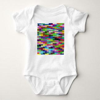 Body Para Bebê tijolos coloridos