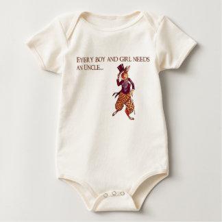 Body Para Bebê Tio