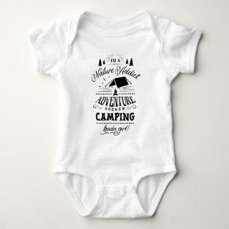 Body Para Bebê Tipo de acampamento da menina