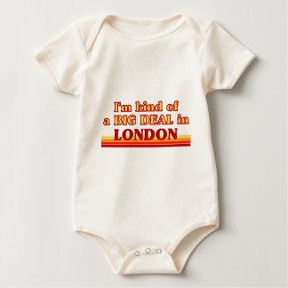 Body Para Bebê Tipo de I´m de uma grande coisa em Londres