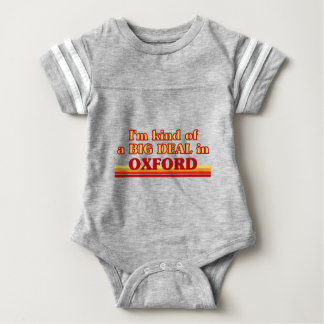Body Para Bebê Tipo de I´m de uma grande coisa em Oxford