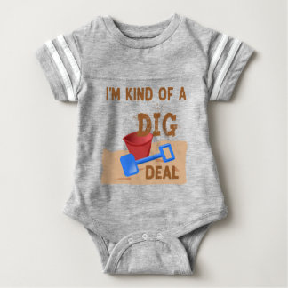 Body Para Bebê Tipo de I'm de um negócio da ESCAVAÇÃO
