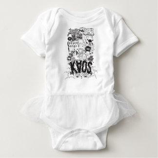 Body Para Bebê tipografia