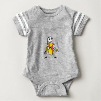 Body Para Bebê Tiragem dos espantalhos