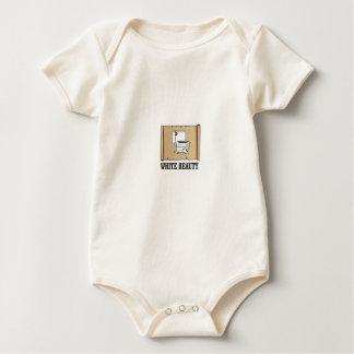 Body Para Bebê toalete branco da beleza