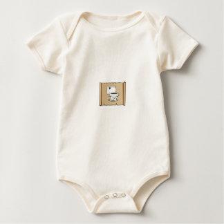 Body Para Bebê toalete no rolo