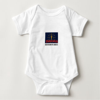 Body Para Bebê Tocha de Indiana