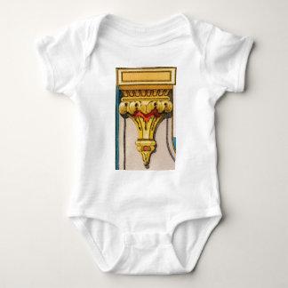 Body Para Bebê tocha dourada da glória