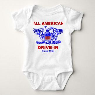 Body Para Bebê Toda a movimentação americana do HAMBURGER no