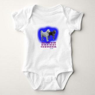 Body Para Bebê Todos é ensinado que os anjos têm as asas
