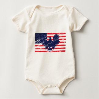 Body Para Bebê Todos os patriotas americanos