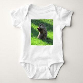 Body Para Bebê Tomate Groundhog