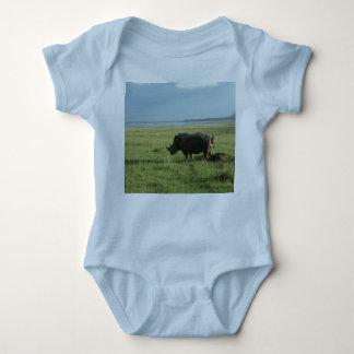 Body Para Bebê Tombadilho do rinoceronte