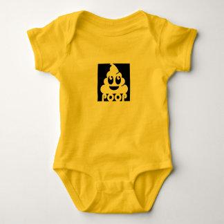 Body Para Bebê Tombadilho quadrado de Emoji