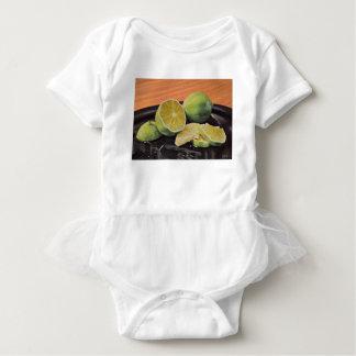 Body Para Bebê Tónico e limão