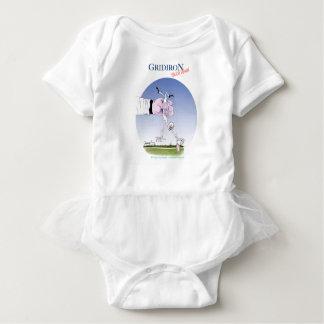 Body Para Bebê Toque da grelha para baixo, fernandes tony