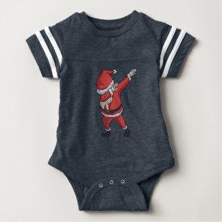 Body Para Bebê Toque ligeiro engraçado do Natal do t-shirt de