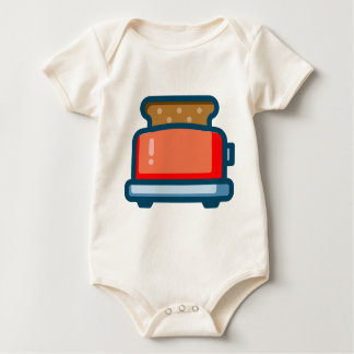 Body Para Bebê Torradeira