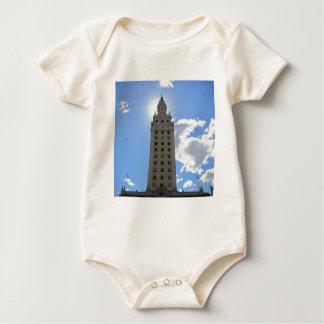 Body Para Bebê Torre cubana da liberdade em Miami