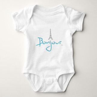 Body Para Bebê Torre Eiffel de Bonjour (olá!) Paris