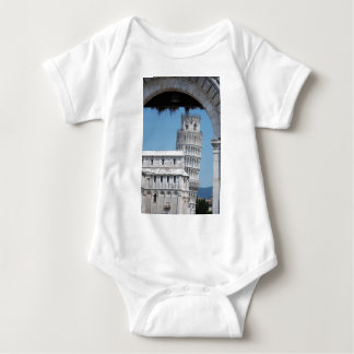 Body Para Bebê Torre inclinada de Pisa