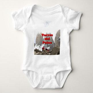 Body Para Bebê Torres del Paine: O Chile