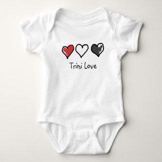 Body Para Bebê Totalmente terno do corpo do bebê do amor de Trini