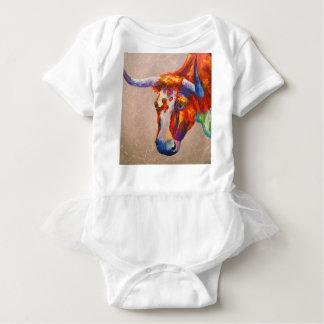 Body Para Bebê Touro curioso