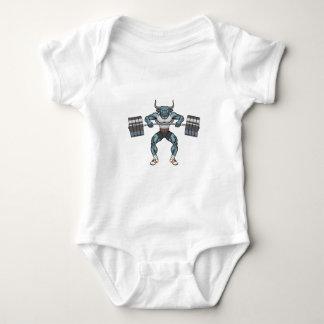 Body Para Bebê touro do levantamento de peso