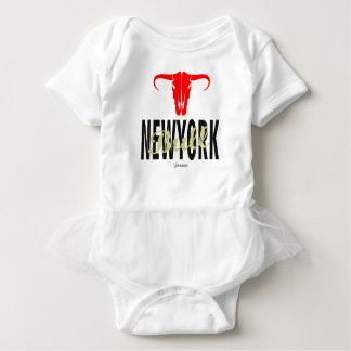 Body Para Bebê Touros da Nova Iorque de NYC por VIMAGO
