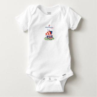 Body Para Bebê Trabalho da equipa de futebol, fernandes tony
