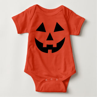 Body Para Bebê Traje bonito da abóbora do Dia das Bruxas do bebê