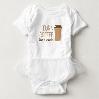Body Para Bebê Transforme o café no código