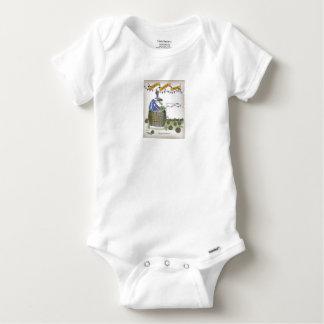 Body Para Bebê treinador de futebol francês