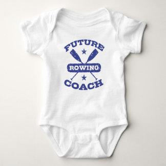 Body Para Bebê Treinador futuro do enfileiramento