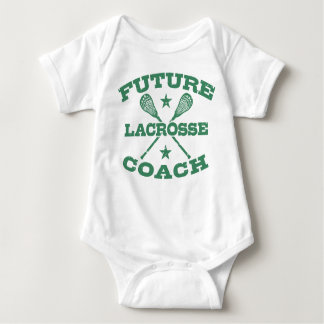 Body Para Bebê Treinador futuro do Lacrosse