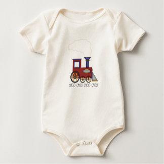Body Para Bebê Trem de Choo Choo