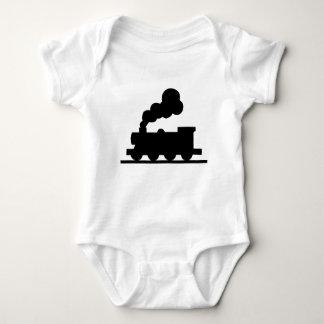 Body Para Bebê Trem de estrada de ferro