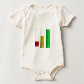 Body Para Bebê Três baterias