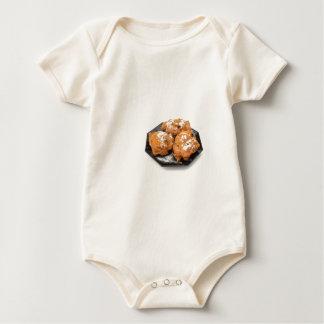 Body Para Bebê Três fritos fritados adoçados ou oliebollen