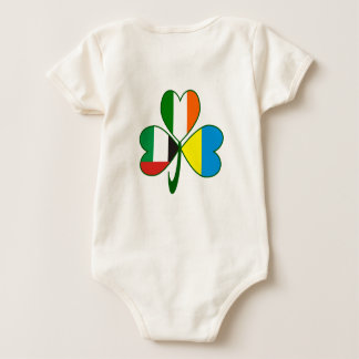 Body Para Bebê Trevo dos UAE Ucrânia Ireland