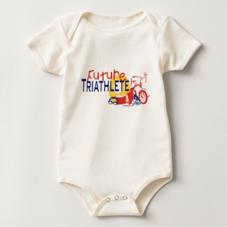 Body Para Bebê Triathlete futuro